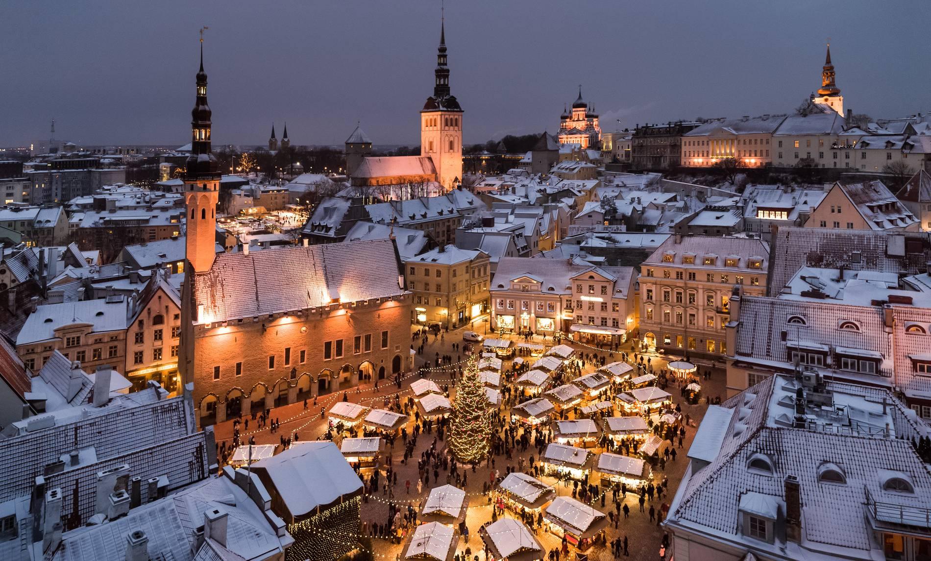 Tallinn Christmas Market in Estonia