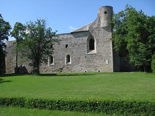 Padise Abbey in Estonia
