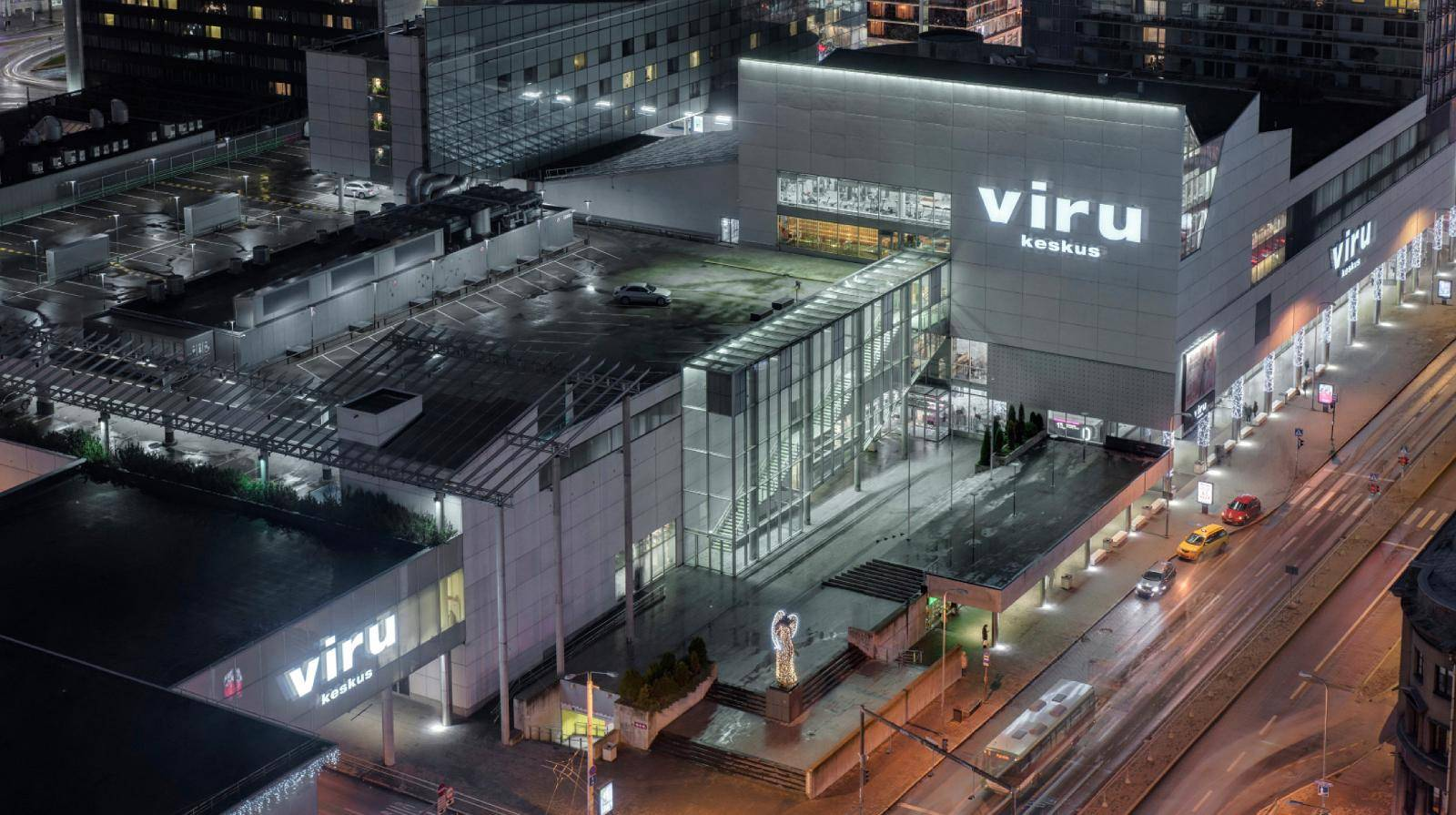 Viru Shopping Centre in Tallinn,Estonia