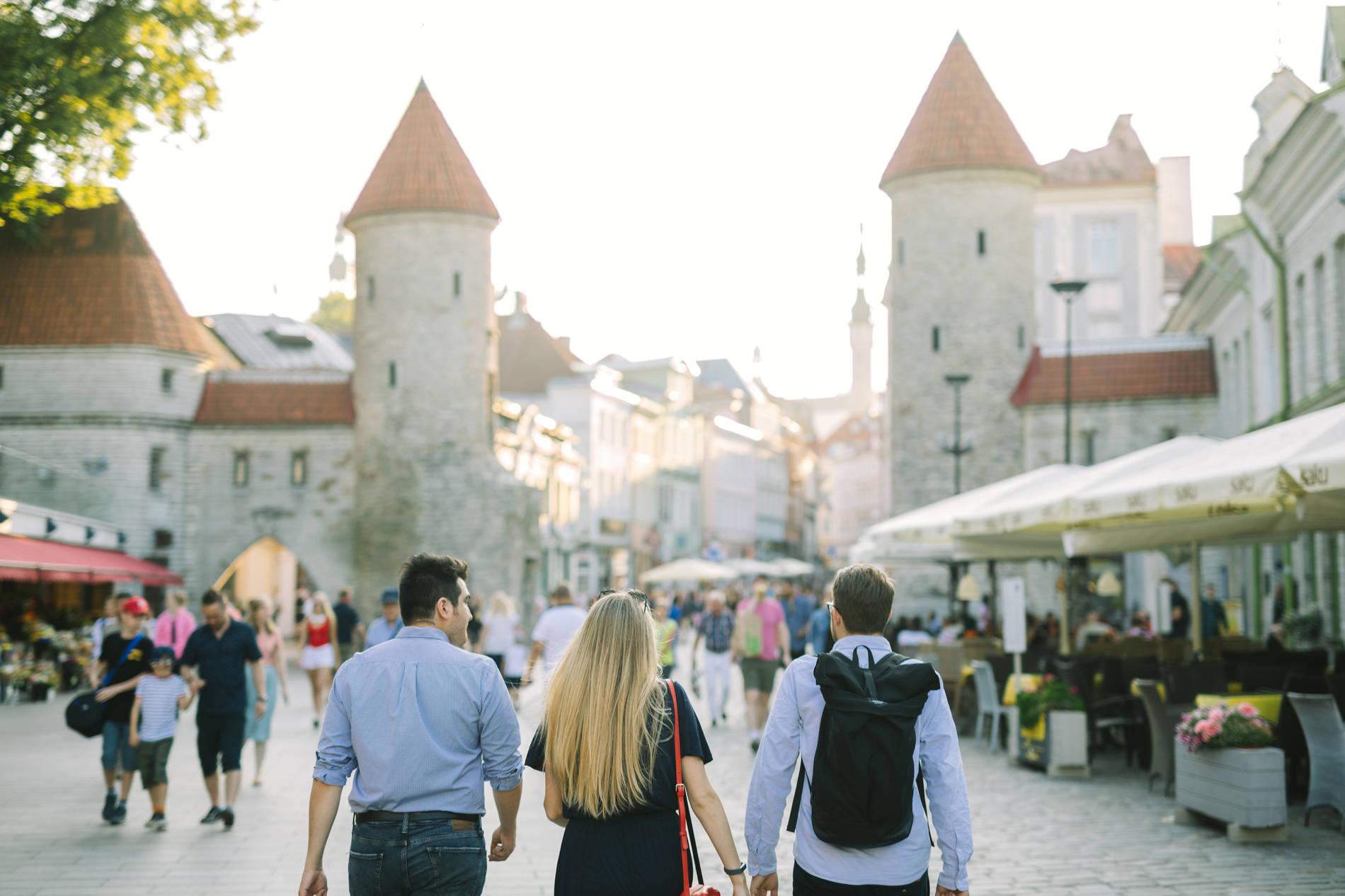Прогулка, старый город, Таллинн