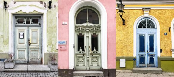 The prettiest doors of Tallinn