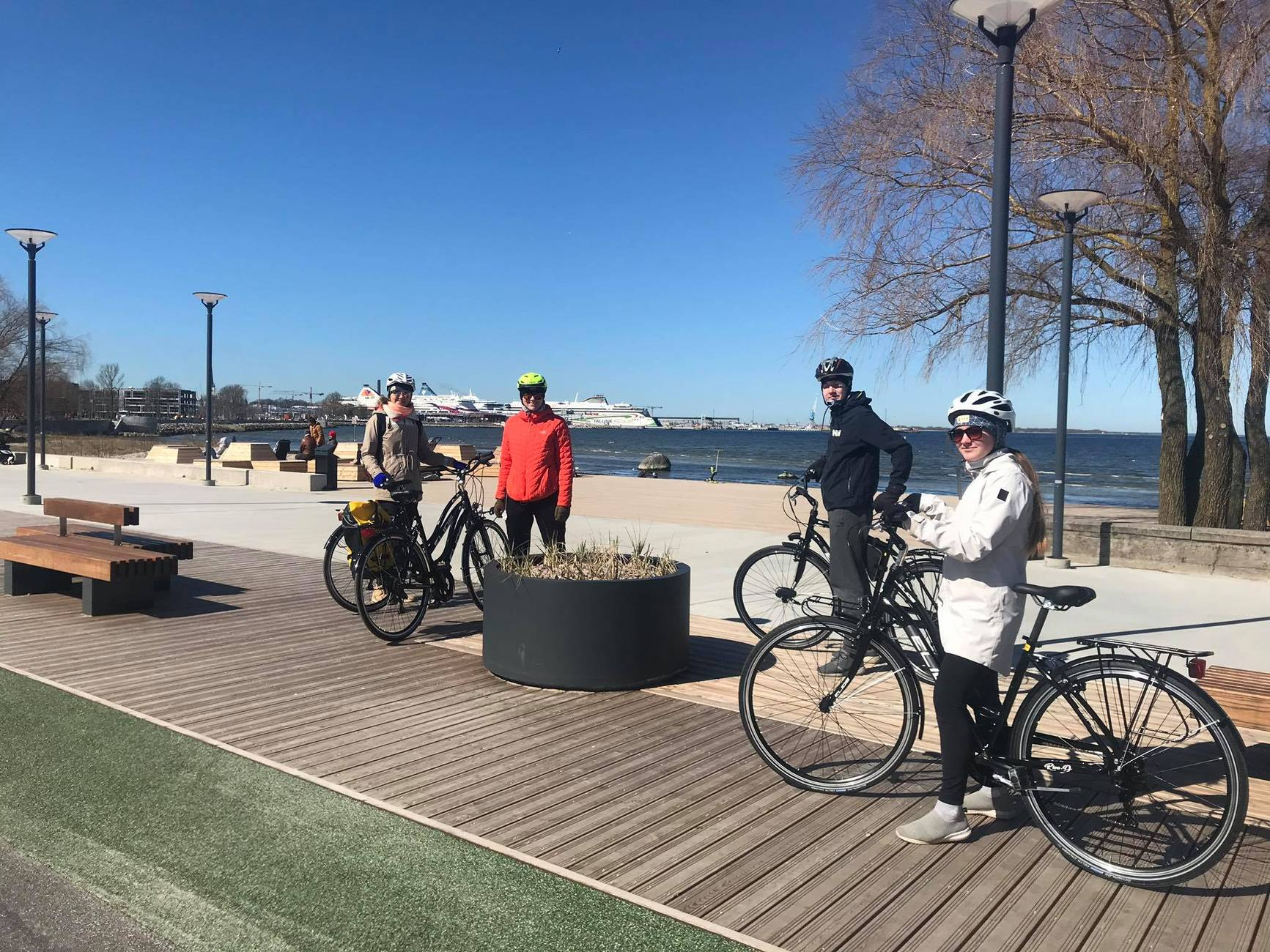 Bike tour in Pirita, Estonia