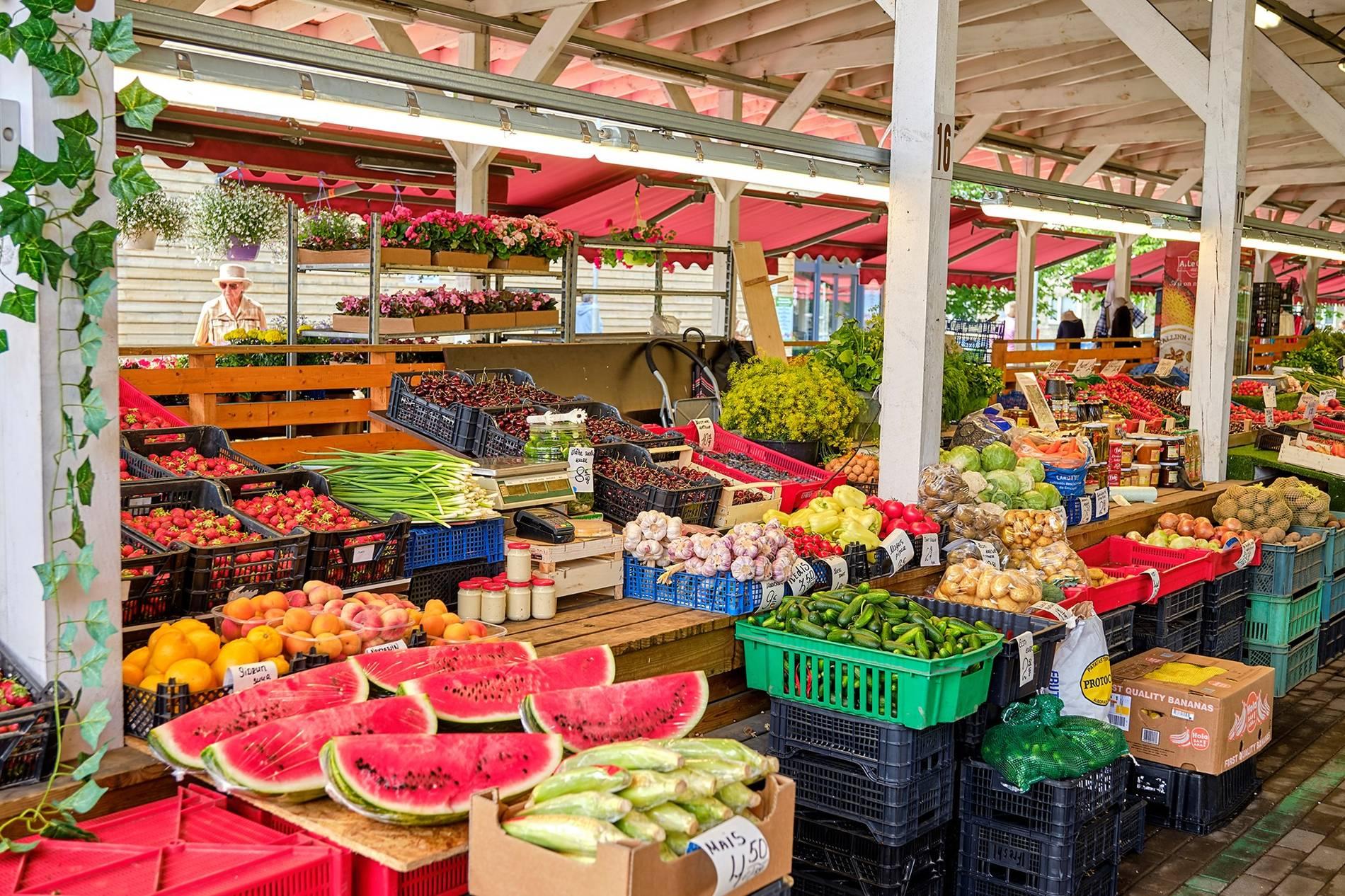 Mustamäe market