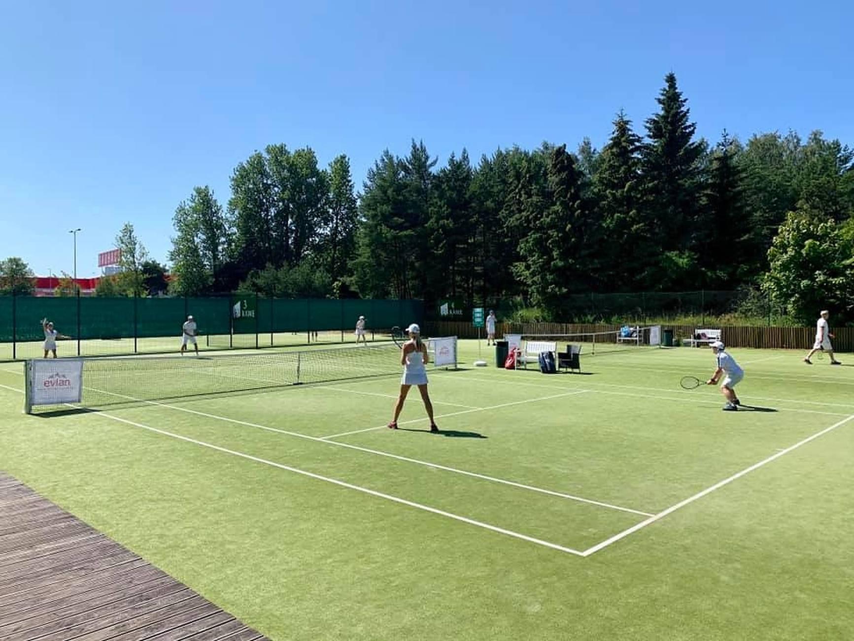Rocca al Mare Tennis Centre in Tallinn,Estonia