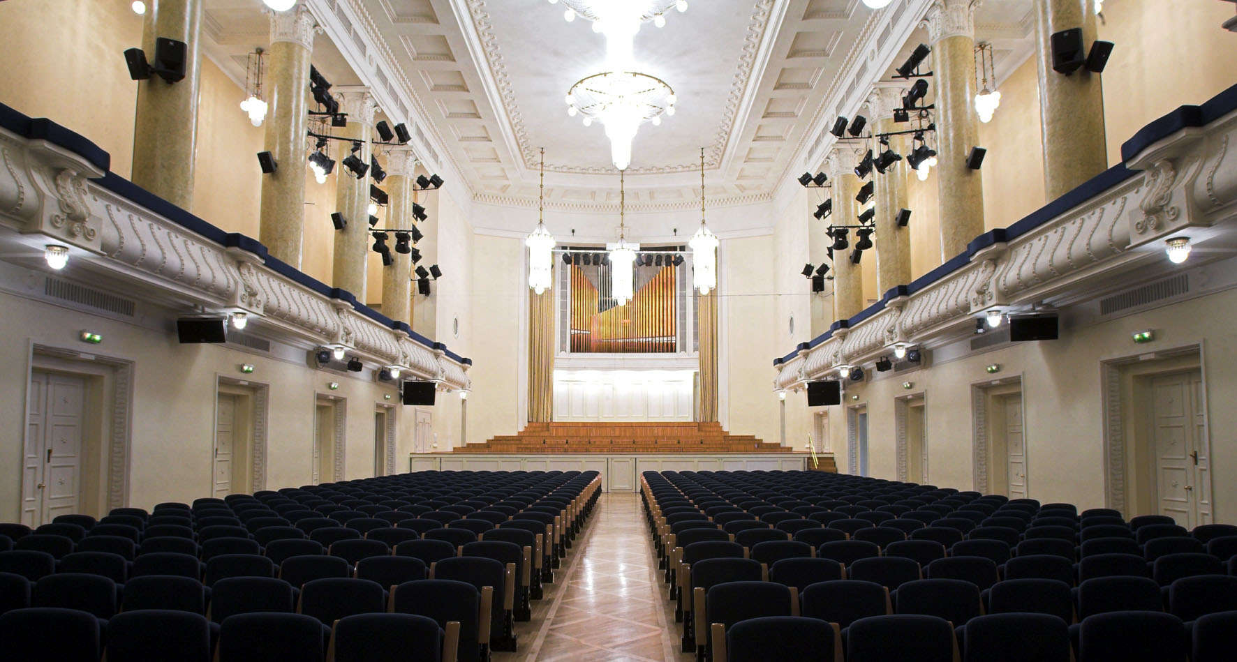 The Estonia Kontserdisaal - meeting place of the Estonian electoral college | photo via visittallinn.ee