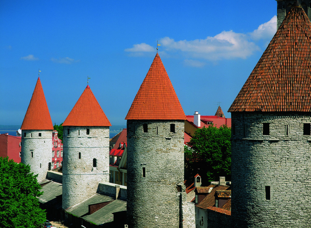 towers of the city wall