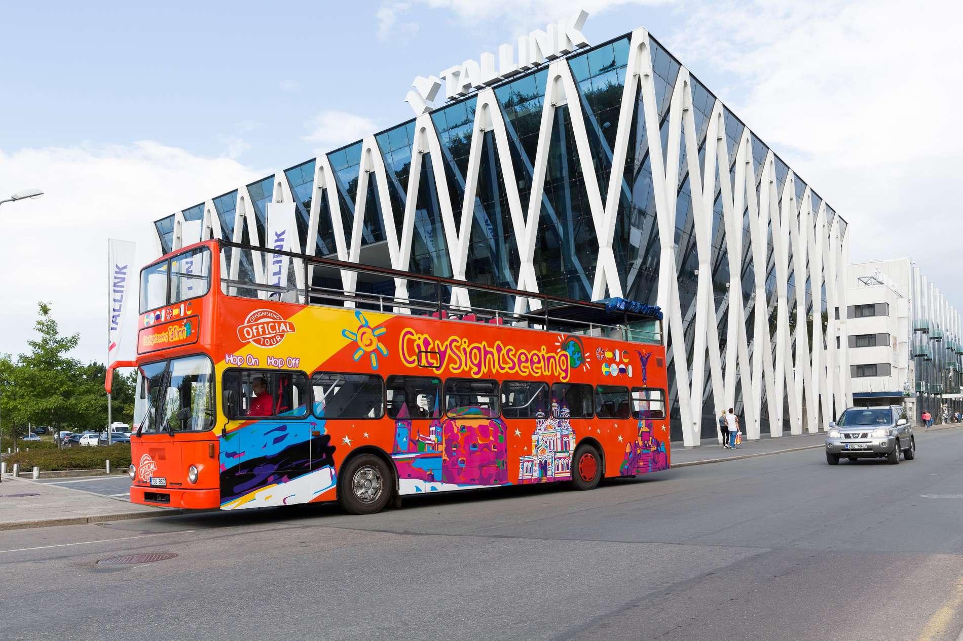 Экскурсии CitySightseeing Tallinn – экскурсии на автобусах с открытой верхней площадкой