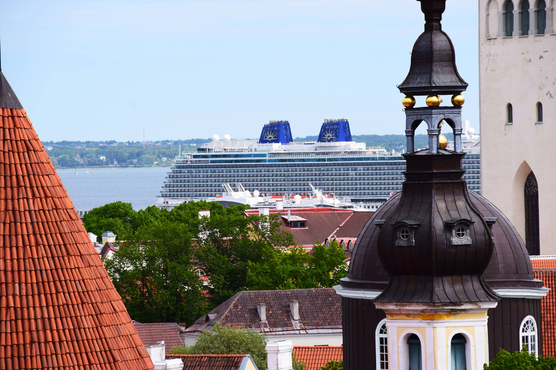 View of the Port of Tallinn