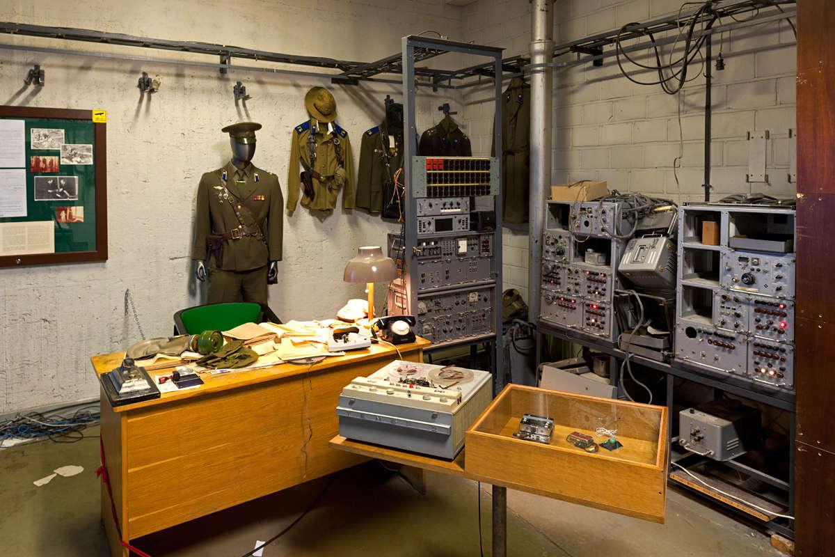 Hotelli Viru & KGB Museon sisätilat Tallinnassa Virossa