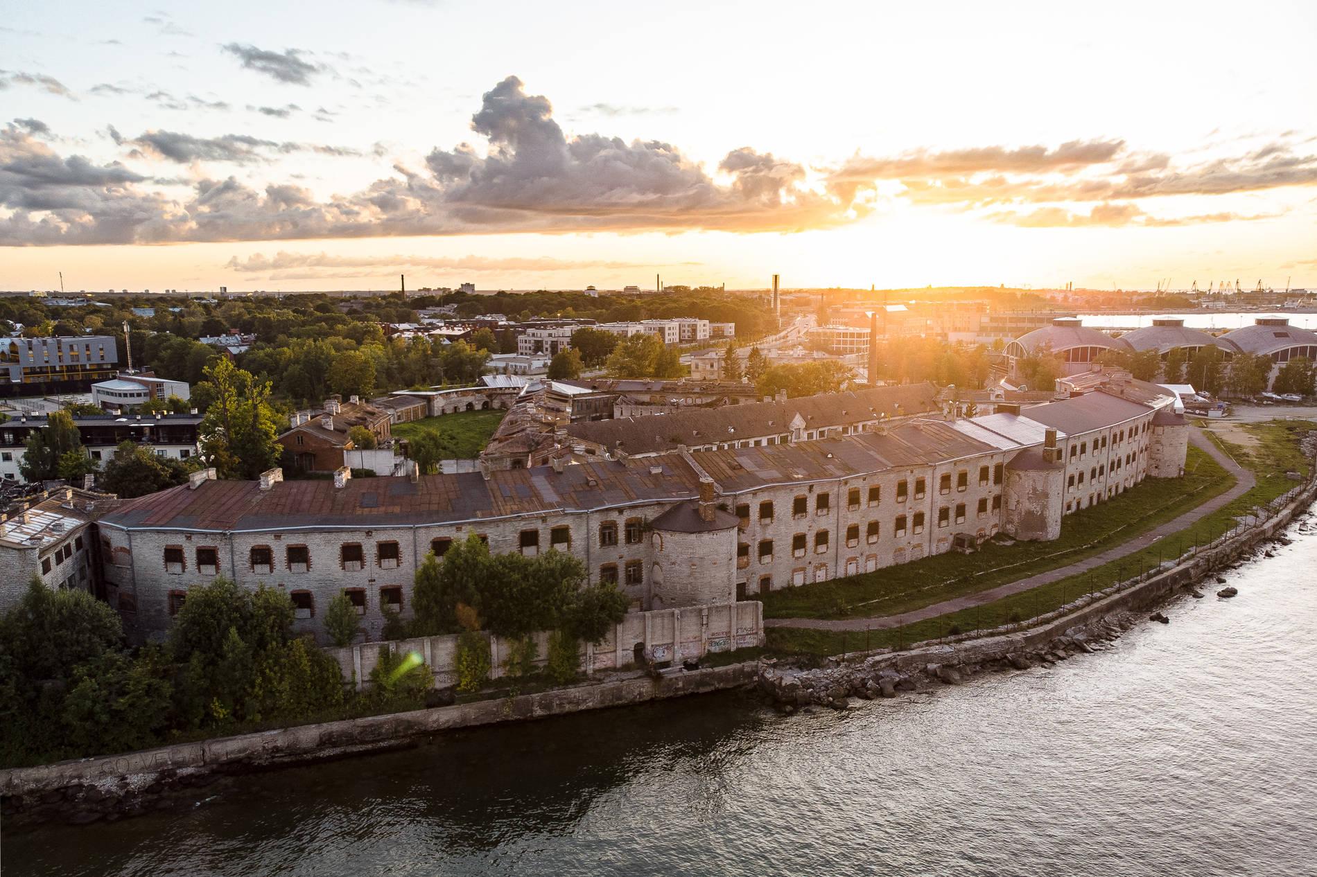 Patarei Prison and Sea Fortress in Tallinn, Estonia